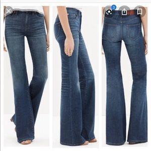 """Madewell """"Flea Market Flare"""" jeans"""